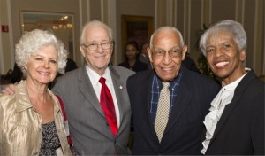 Extending their congratulations to United States District Court Judge George Leighton (ret.)