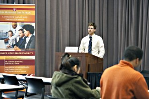 Alumnus Is Tax/EB Guest Lecturer