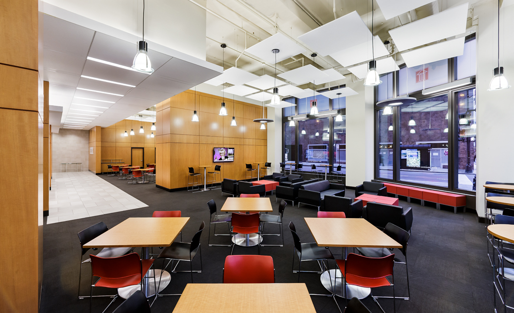 Renovated Interior Space at The John Marshall Law School Selected