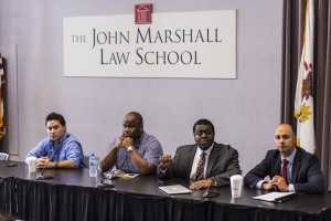 Current John Marshall students answer questions from LEAP and PLI participants about what law school is really like