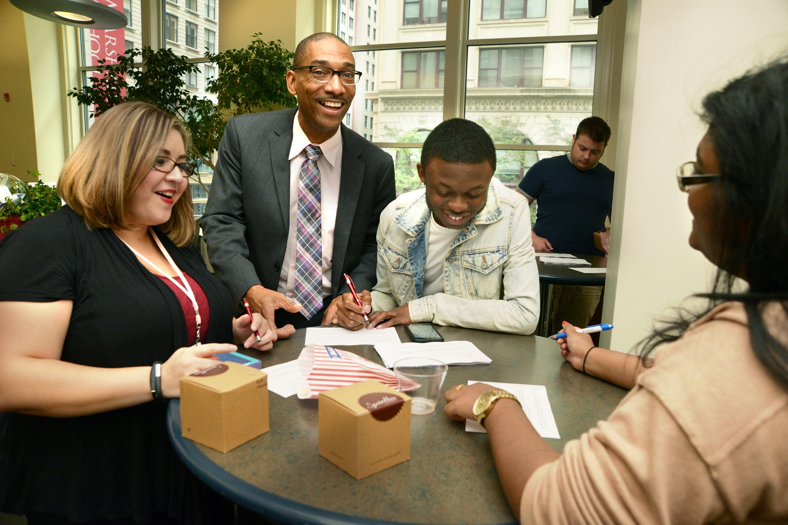 Law school diversity: John Marshall reports strong student