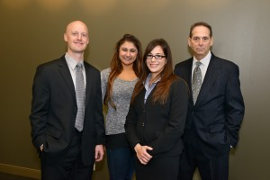 2015- 2016 SVA Board (from L to R) Matthew Duquette, Jessica Vasil, Patricia Liggett and Dale Lichtenstein.