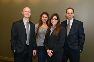 2015- 2016 SVA Board (from L to R) Matthew Duquette, Jessica Vasil, Patricia Liggett and Dale Lichtenstein.