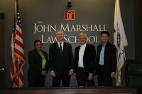 """Professor who inspired lawsuit challenging copyright of """"Happy Birthday"""" speaks at John Marshall"""